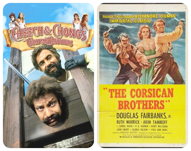 Cheech & Chong - Douglas Fairbanks Corsican Brothers Movie Posters